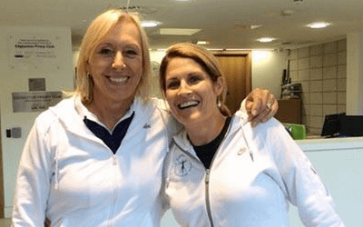 What Martina Navrtilova Taught Me About Breathing
