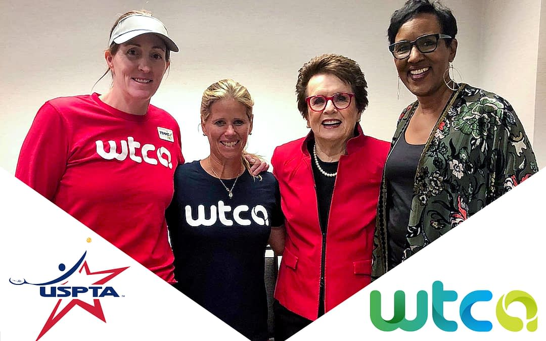 USPTA Forms Partnership with WTCA