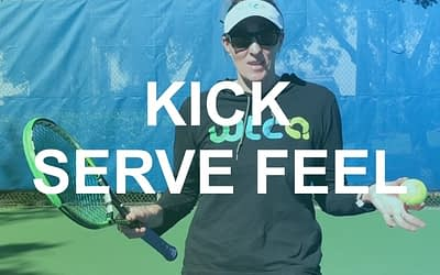 Learning Feel on a Kick Serve