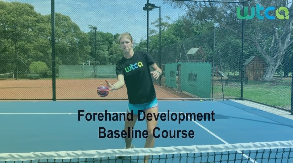 Forehand Development Baseline Course