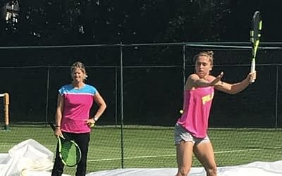 The Transition from College Tennis to Wimbledon